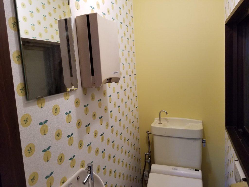 店舗トイレの施工後