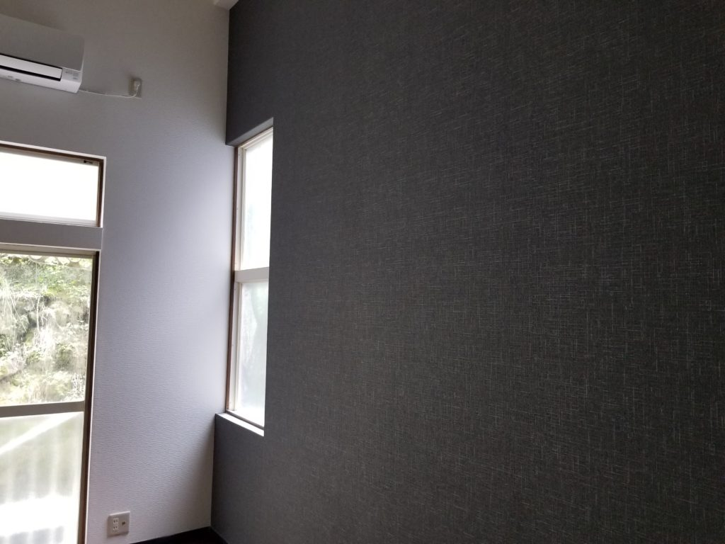 アパートの壁紙の張替えの施工後