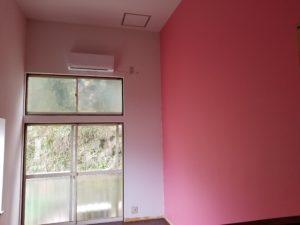 アパートの壁紙張替えの施工後