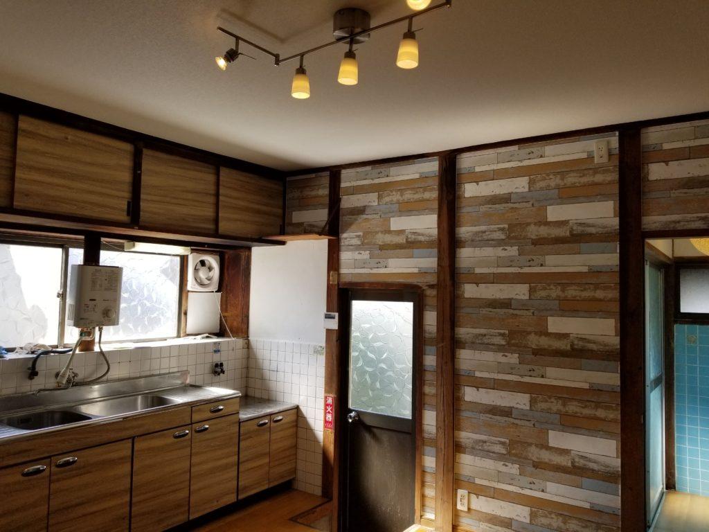 台所の内装リフォームの施工後