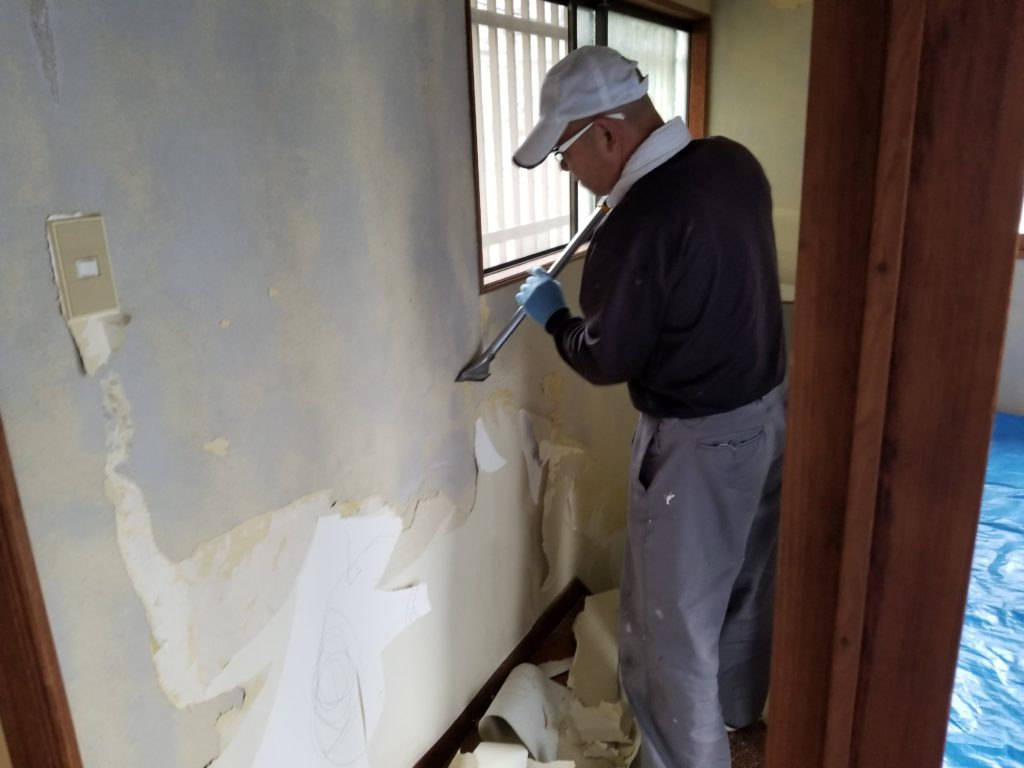 内装壁紙リフォームの施工前