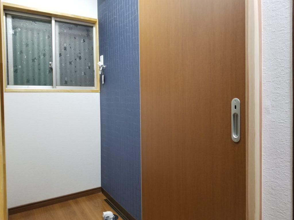 トイレの壁紙リフォームの施工後