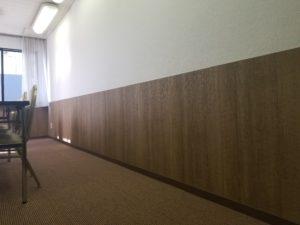 ホテル会議室の床の施工後