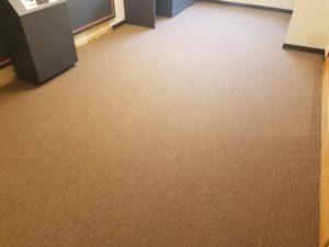 ホテル客室床の張替えリフォームの施工後